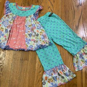 Matilda Jane Pajama Set size 4